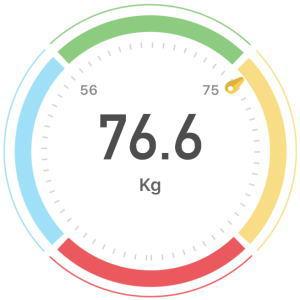 2020年1月16日(木)の体重