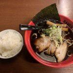 麺家いろは 射水本店 「富山ブラック」