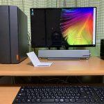 ゆーじの自宅のパソコン