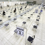 広島県の新型コロナウイルスワクチンの高齢者向け大規模接種