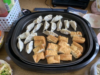 餃子ホームパーティー