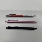 シャープペンとボールペン2色