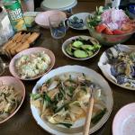 野菜炒めホームパーティー